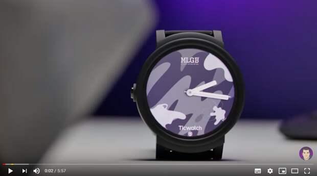 Компания Mobvoi намерена представить в понедельник свои новые умные часы