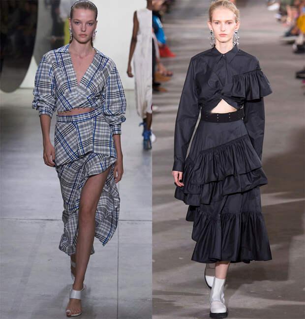 Подборка модных юбок из коллекций 2018