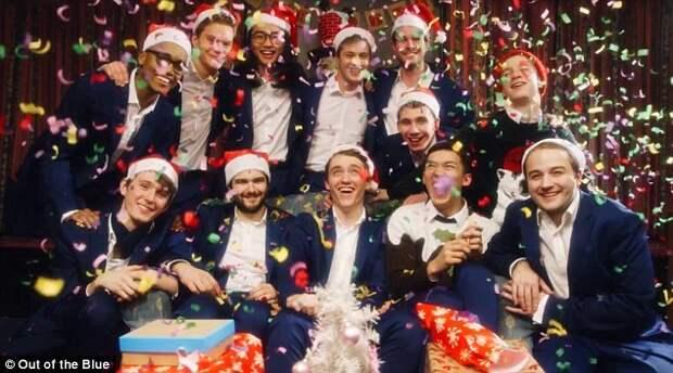 Студенты Оскфорда спели акапелла рождественскую песню
