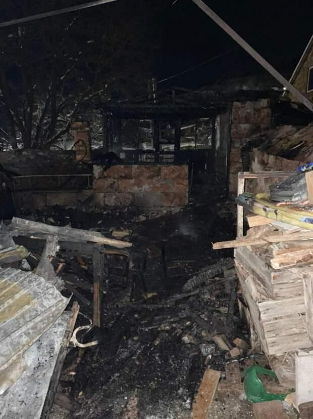 В Бахчисарае на пожаре погиб 9-месячный ребёнок