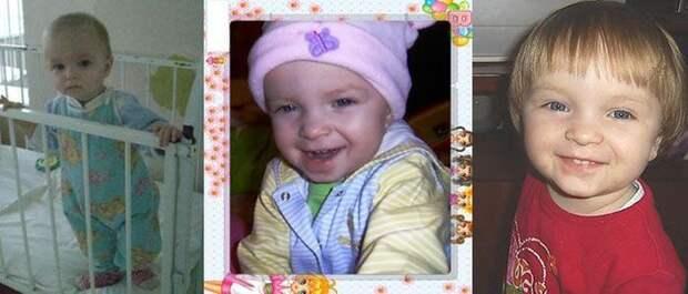 Любовь творит чудеса: снимки малышей из детдома до и после обретения семьи