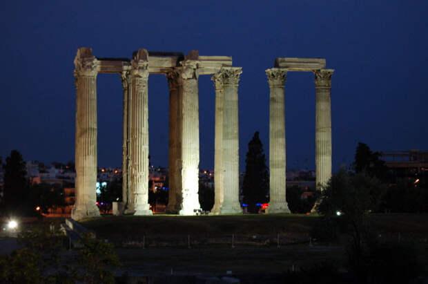 Афины: Храм Зевса