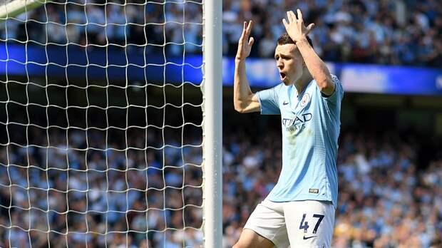 Нападающий «Манчестер Сити» Фоден побил рекорд по голам в ЛЧ среди англичан в возрасте до 21 года