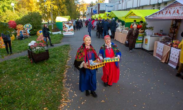 ВАрхангельске стартовала традиционная Маргаритинская ярмарка