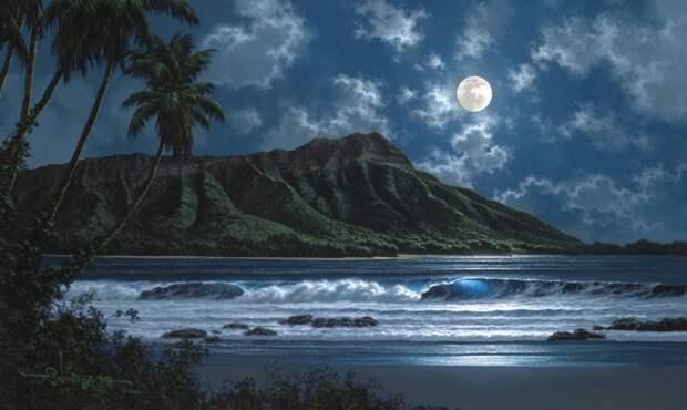 Морские пейзажи художника Roy Tabora