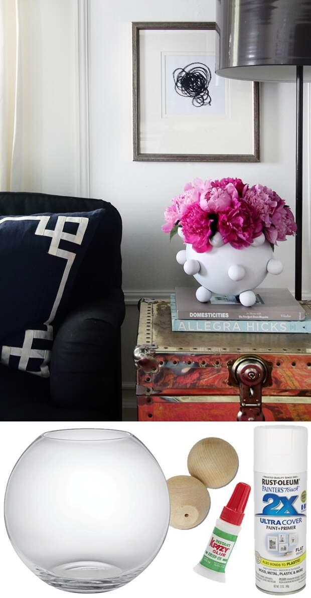 Креативная ваза - diy
