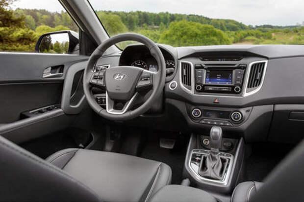 Интерьер Hyundai Creta: подробности