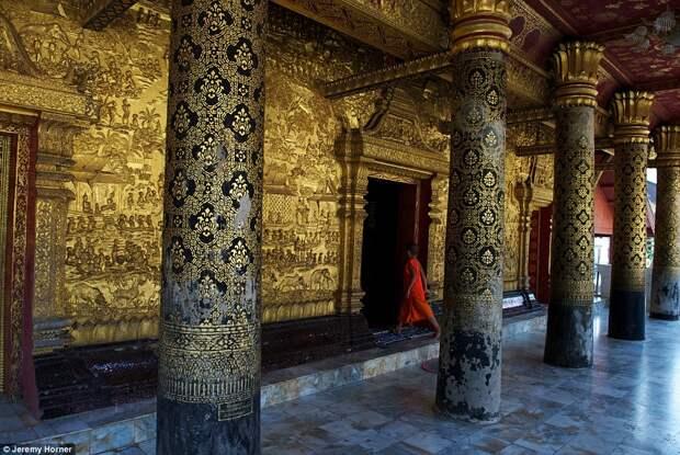 Ват Маи в Луангпхабанге, Лаос