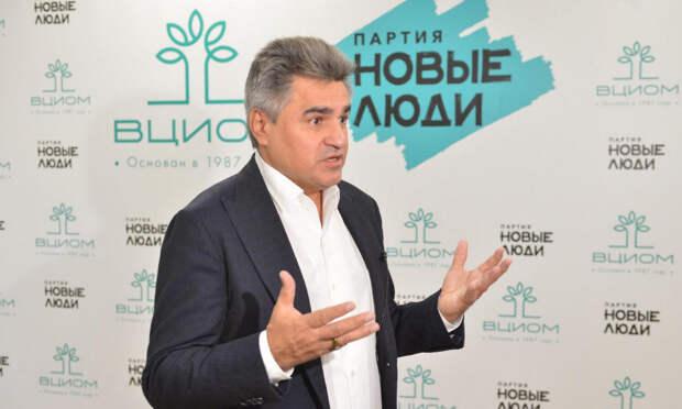 ВЦИОМ прогнозирует 6% на выборах «Новым людям»