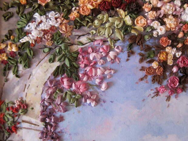 Виктория Лобжина: объёмная вышивка