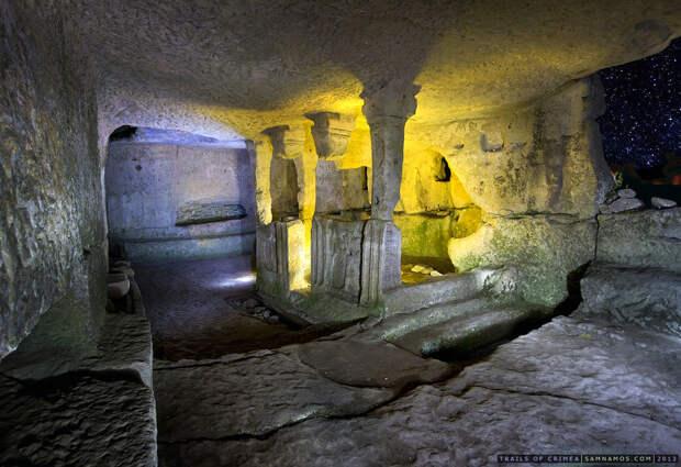 Экскурсия по пещерным городам Крыма