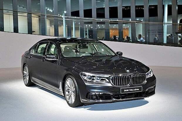 BMW вывела в свет новый седан 7-й серии (ВИДЕО)