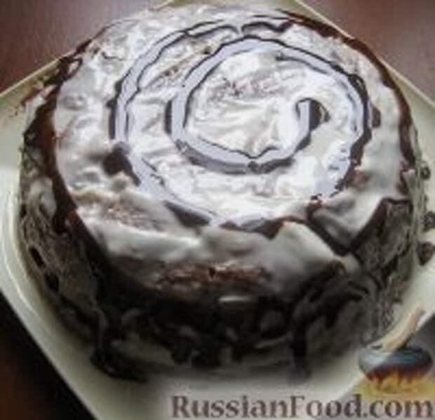 """Фото к рецепту: Торт """"Панчо классический"""""""