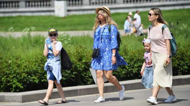 Аномальная жара задержится в Петербурге на выходные