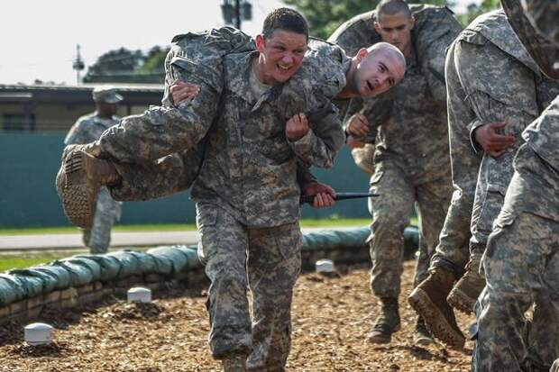 Сильные женщины в армии