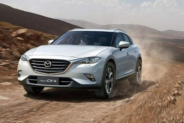 Дар императору: Mazda CX-4 предпочла Китай Западу