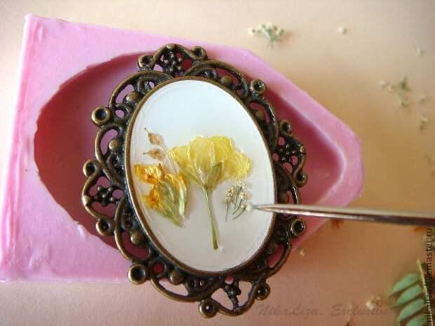 Создание украшений из ювелирной эпоксидной смолы