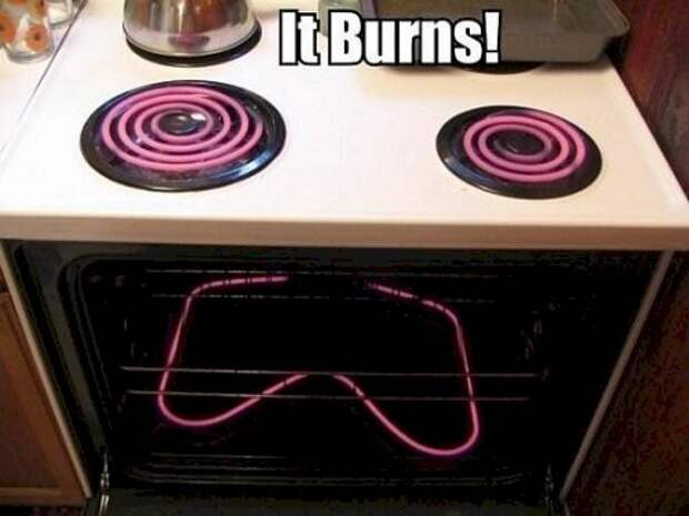 2. Каждый раз, когда ты готовишь что-то в этой духовке, умирает маленькая часть ее души бытовая техника, ты упоротый что ли, юмор