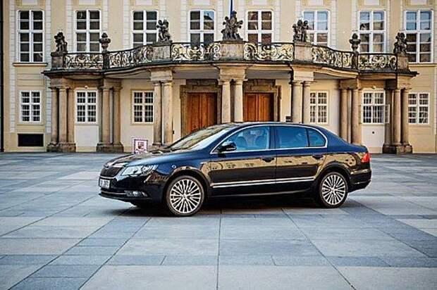 Чешский президент предпочитает отечественные автомобили