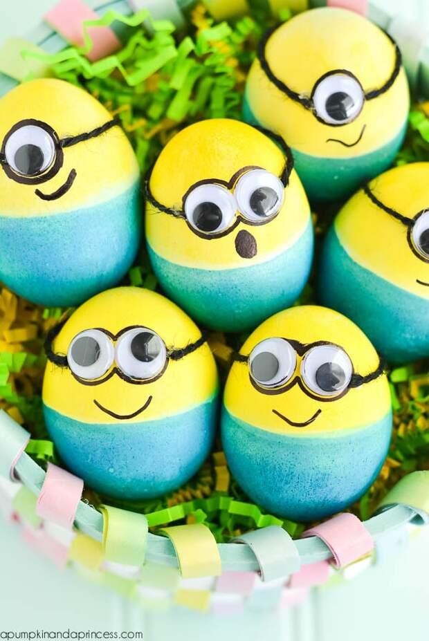 Миньоны яйца