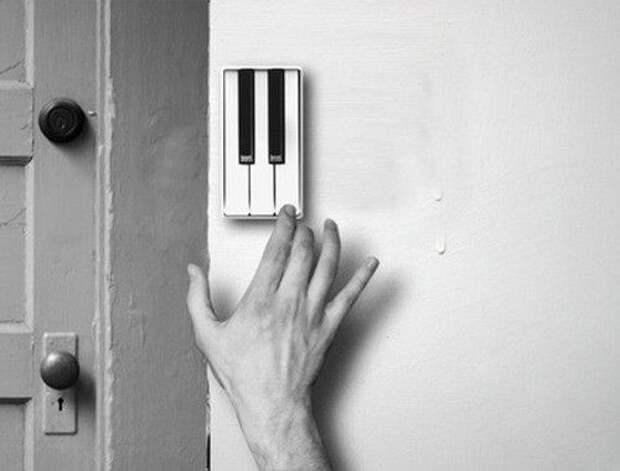 Pianobell - необычный дверной звонок