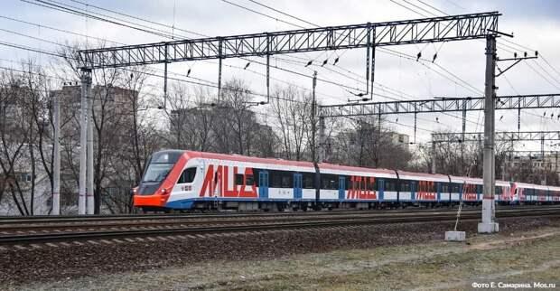 Собянин открыл первую новую станцию в рамках создания линии МЦД-3.Фото: Е.Самарин, mos.ru