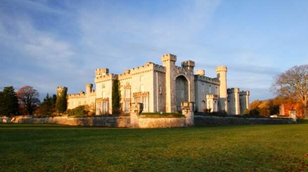 Замок Боделвидан в Уэльсе история, мистика