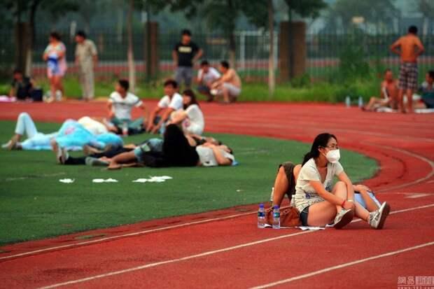 Последствия большого взрыва взыр, китай, последствия