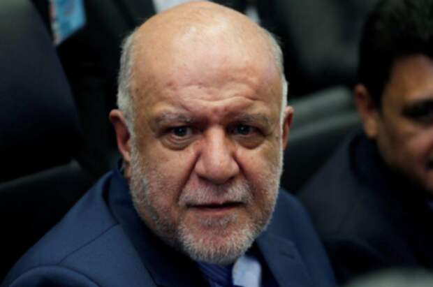 Министр нефти Ирана Бижан Зангане в Вене, Австрия, 1 июля 2019 года. REUTERS/Leonhard Foeger