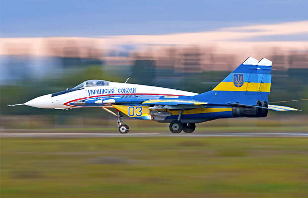 Израиль займется модернизацией украинских истребителей МиГ-29