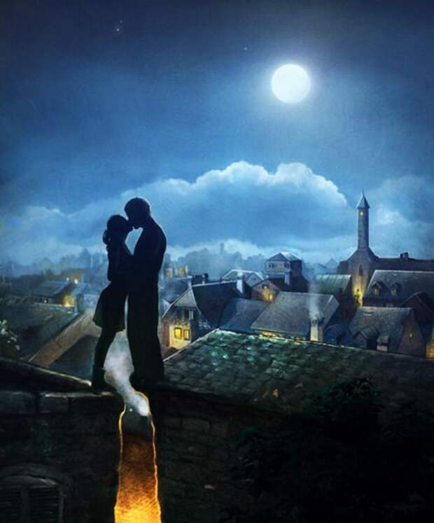 Винтажная лунная романтика.