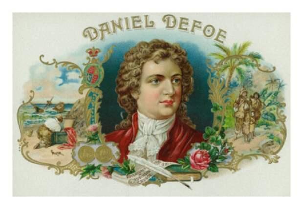 Даниэль Дефо. Открытка.