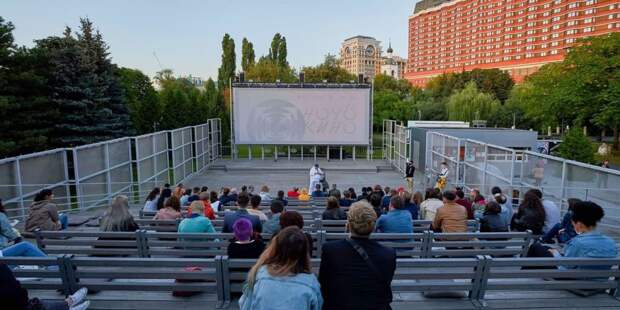 Наталья Сергунина рассказала о московской программе «Ночи кино». Фото: М. Денисов mos.ru