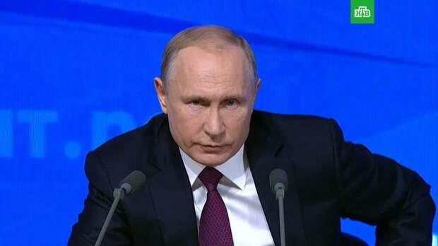 Путин: Россия заинтересована в процветающей Украине
