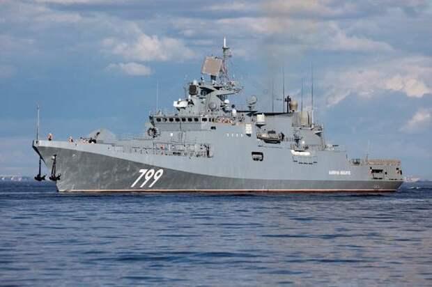 Sohu поведало о бегстве эсминца США от Крымского моста из-за российских кораблей