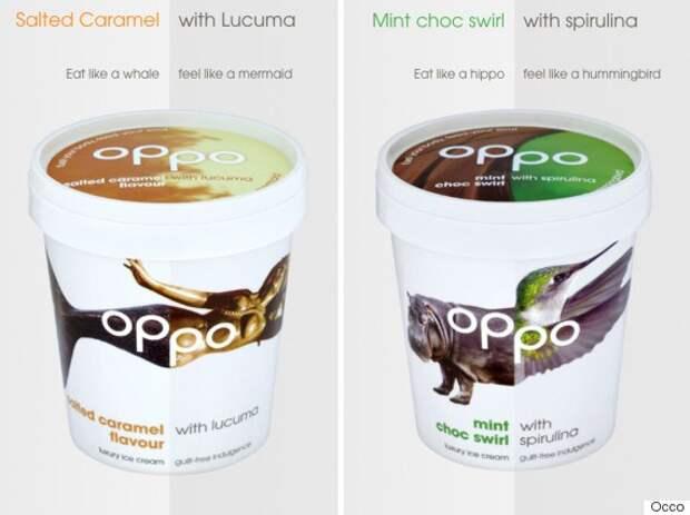 Создано мороженое, в котором калорий меньше, чем в яблоке