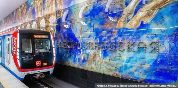 За год в Москве планируется открыть 11 новых станций метро. Фото: М. Мишин mos.ru