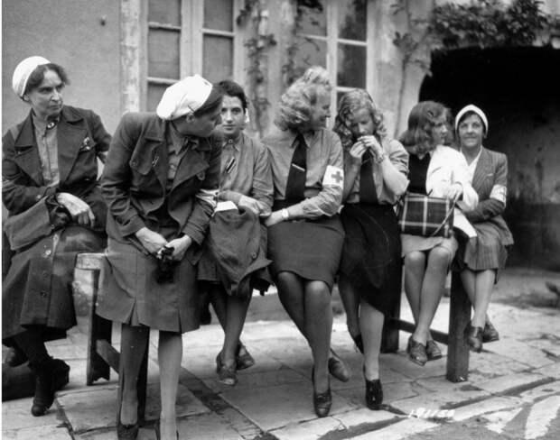 Немецкие женщины-военнопленные