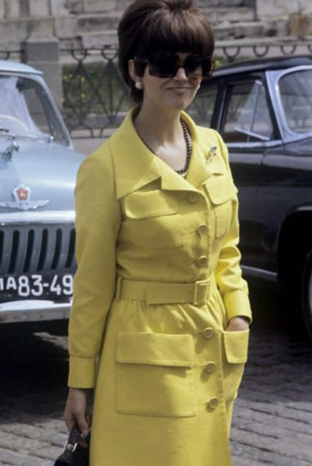 Клаудия Кардинале в советской Москве.