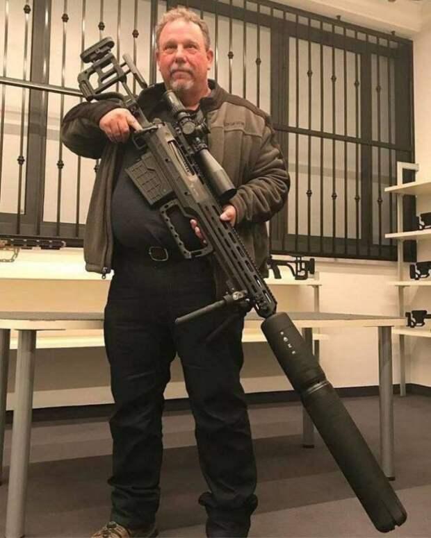 Огромная винтовка