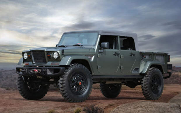 Возвращение Гладиатора: концептуальный Jeep может пойти в серию