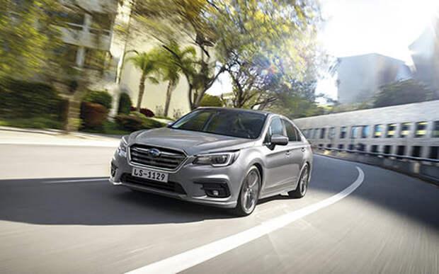 Стартовали продажи Subaru Legacy в России