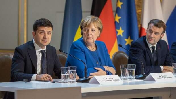 Германия и Франция заявили о необходимости отвода ВС России от украинских границ