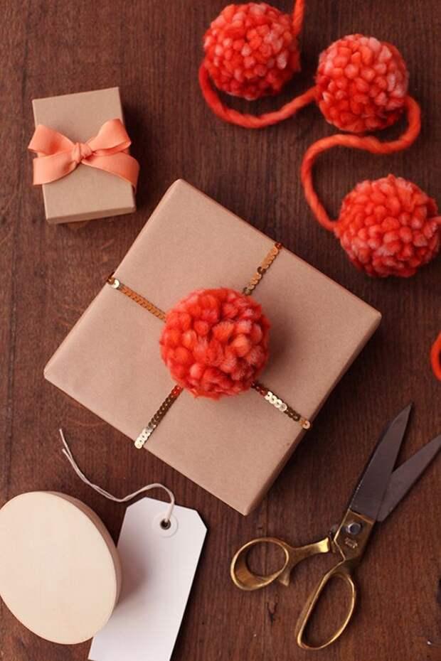 Упаковки с помпонами