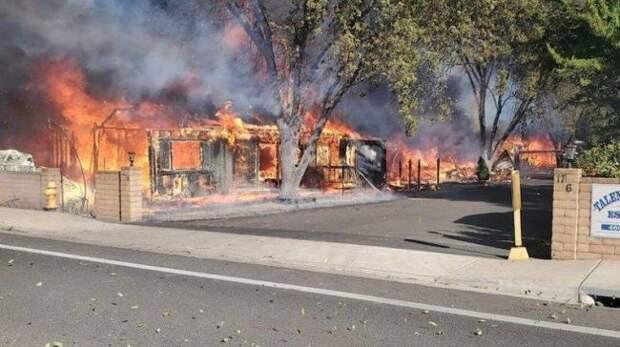 Страна в огне: в США лесные пожары унесли 36 жизней