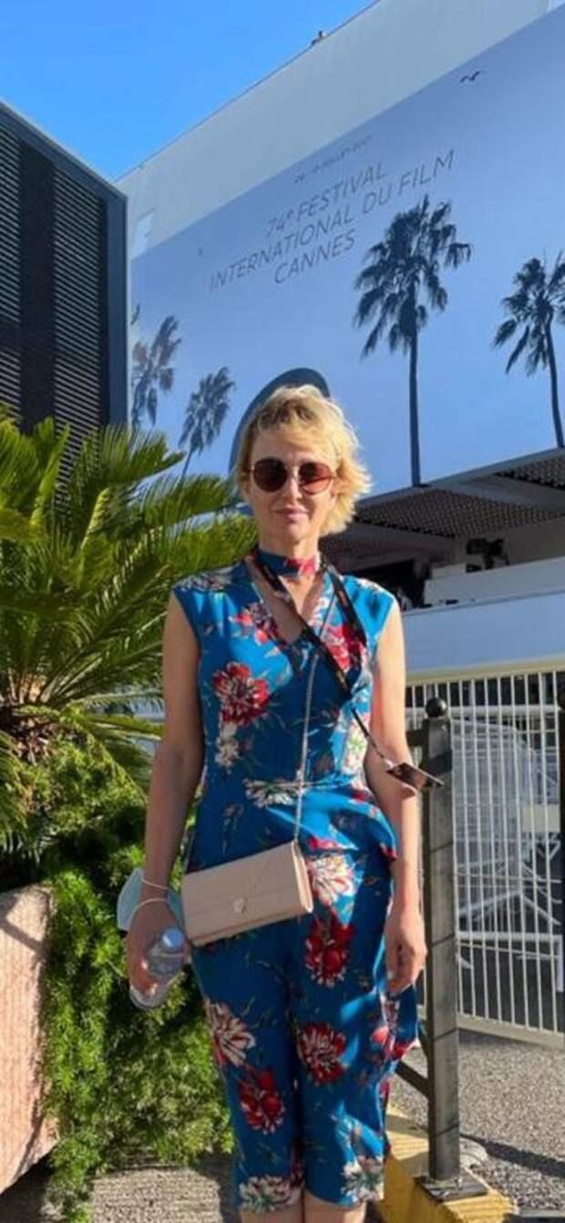 Актриса «Сатирикона» представила российский фильм в Каннах
