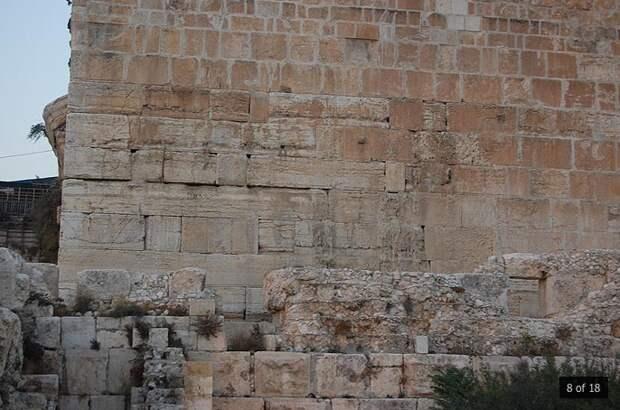 Мегалиты Храмовой горы (южная стена)