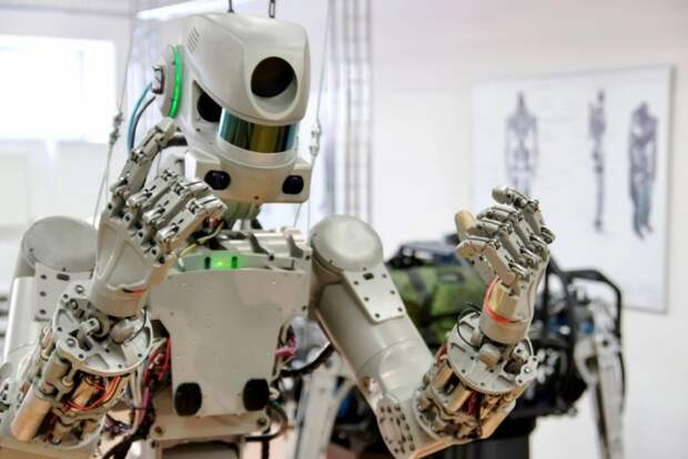 Робот Фёдор вступил в «Единую Россию»