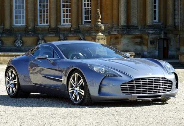 Самая дорогая машина в мире 2015, Aston Martin One-77
