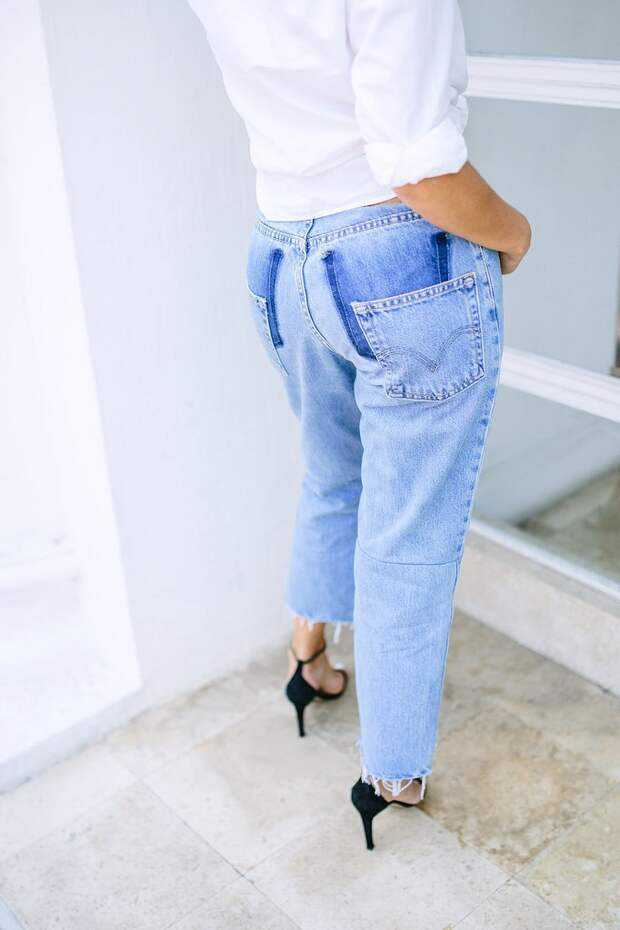 Креативная переделка джинсов (Diy)